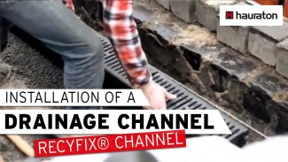 RECYFIX® Channel installation