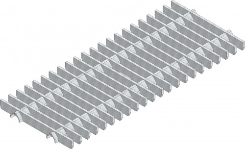 traverse bar grating